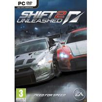 Need For Speed Shift 2 Unleashed Jogo Pc Original Lacrado