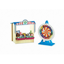 6394 Playmobil Parque Circo Barraca Roda Da Fortuna Add-o...
