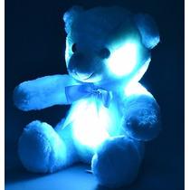 Ursinho De Pelúcia Minha Luz Azul Com Led Buba Toys Display