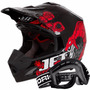 Capacete Moto Cross Pro Tork Eletric Trilha + Óculos 788