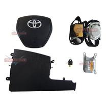 Kit Air Bag Bolsas Cintos Modulo Sensor Toyota Etios 2015