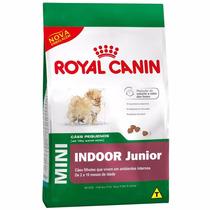 Ração Royal Canin Mini Indoor Junior 7,5kg Frete Gratis