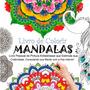 Livros De Colorir Mandalas Pintura Antiestresse Paz Interior