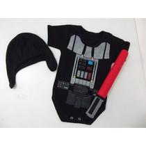 Body Baby Personalizado Uniforme Darth Vader