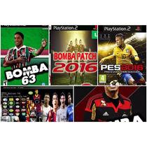 Patche Kit Game 4bomba Patch Futebol 1pes2016 (play2)