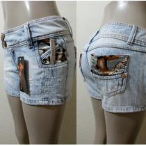 Shorts Com Detalhes Super Lindo.