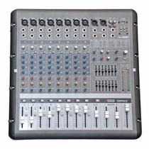 Sjf Mesa Arcano Amplificada Armr8fx 8 Xlr +usb In +2 Eq Main