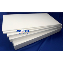 5 Placas De Isopor P3 100x50x1cm