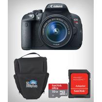 Câmera Canon Rebel T5i Kit 18-55mm+32gb Classe 10+bolsa C/nf