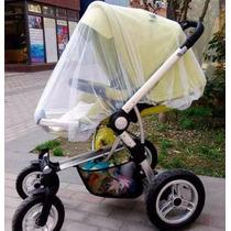 Mosquiteiro Para Carrinho De Bebê Tela Rede Mosquito