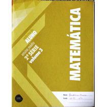 Matemática Caderno Do Aluno 1ª Série Volume 1