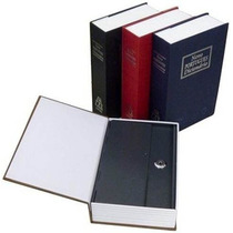 Cofre Camuflado Formato Livro Dicionário 2chaves Porta Joias