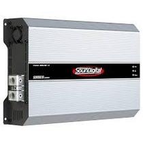 Amplificador Sound Digital Evo 8000 Rms -2 Ohms