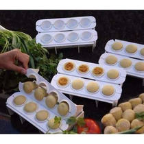 Forma Fábrica De Coxinhas Salgados - Kit Modelador De Massas