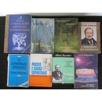 8 Livros Espíritas - Allan Kardec , Entre Outros Autores