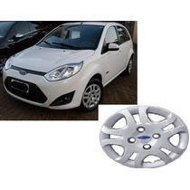 ( 01 ) Calota Aro 14 P/ Ford Fiesta - 2012 /2013 + Emblema