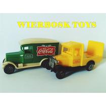 Lote Caminhão Antigo Coca Cola No Estado