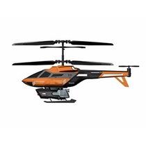 Helicóptero R/c Controle Remoto Heli Splash Laranja Dtc