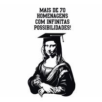 Vetores Profissionais - Mona Lisa