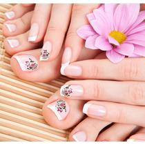 Imagens Para Adesivos De Unhas - Florzinhas P Os Pés