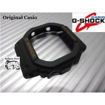 Capa Bezel Casio G-shock Dw-5600e Original S. Ouro
