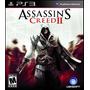 Assassins Creed 2 Ii Ps3 Mídia Física Novo & Lacrado