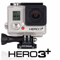 Câmera E Filmadora Go Pro Hero 3+ Silver Top De Linha