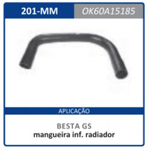 Mangueira Inferior Radiador Gs 0k60a.15185 Besta:1986a2006