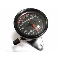 Painel Universal Custom Velocimetro Moto Cafe Racer