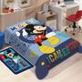 Cobertor Jolitex Solteiro Raschel Macio Disney Mickey Mouse