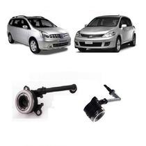 Cilindro Atuador Rolamento Embreagem Nissan Tiida Livina