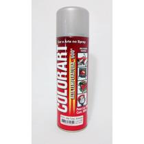 Tinta Spray Alta Temperatura Alumínio 600ºc Colorart.