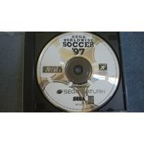 Sega Worldwide Soccer 97 - Sega Saturno Original Perfeito