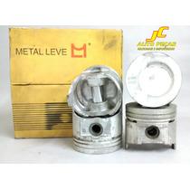 Jg.pistão S/anéis 0,50 Gas Corcel/belina/pampa 83/86 1.6 Cht