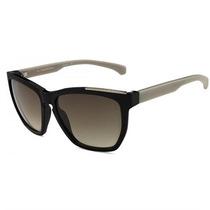 Óculos De Sol Calvin Klein Jeans Preto Com Haste Cinza