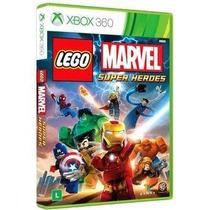 Jogo Lego Marvel Super Heroes - Leg Português- Xbox 360 Novo