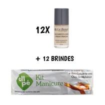 12 Bases Unhas Fracas La Beauté + 12 Brindes