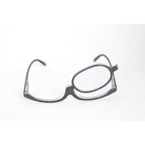 Óculos De Grau P/ Maquiagem Preto Facilidade Fem +2,75 B76