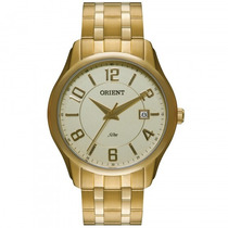 Relógio Orient Mgss1076 C2kx Masculino Dourado - Refinado