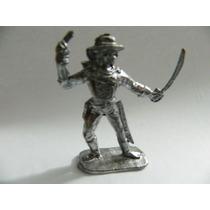Soldado Chumbo #55 Forte Apache Soldado C/ Espada 6,5cm
