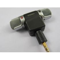 Mini Microfone Sony Stereo P2 3,5mm Ecm-ds70p - Frete Grátis