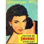 Almanaque De Farmácia Elixir Inhame Goulart 1954