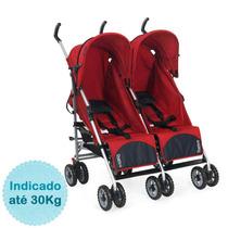 Carrinho De Bebê Para Gêmeos Duetto - Atimo Burigotto