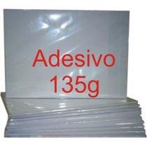 100 Folhas Papel Fotográfico Adesivo A4 Glossy Brilhante
