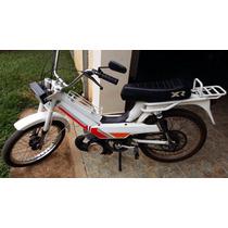 Caloi Mobilete Xr 75cc Reformada Novissima