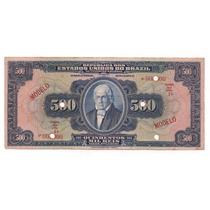 Rc0465 R162am 500 Mil Réis Tesouro Nacional Modelo 1924