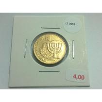 Moeda Fc Israel 10 Agorot - Lt0953