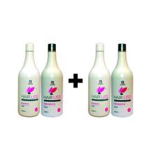 2 Kit Hair Liss Professional Tratamento Térmico Frete Gratis