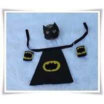 Batman Newborn Feltro Acessórios Fotografia Newborn