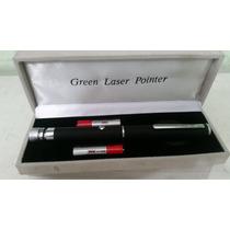 Caneta Laser Pointer Verde Green 5000mw Alcança 8km